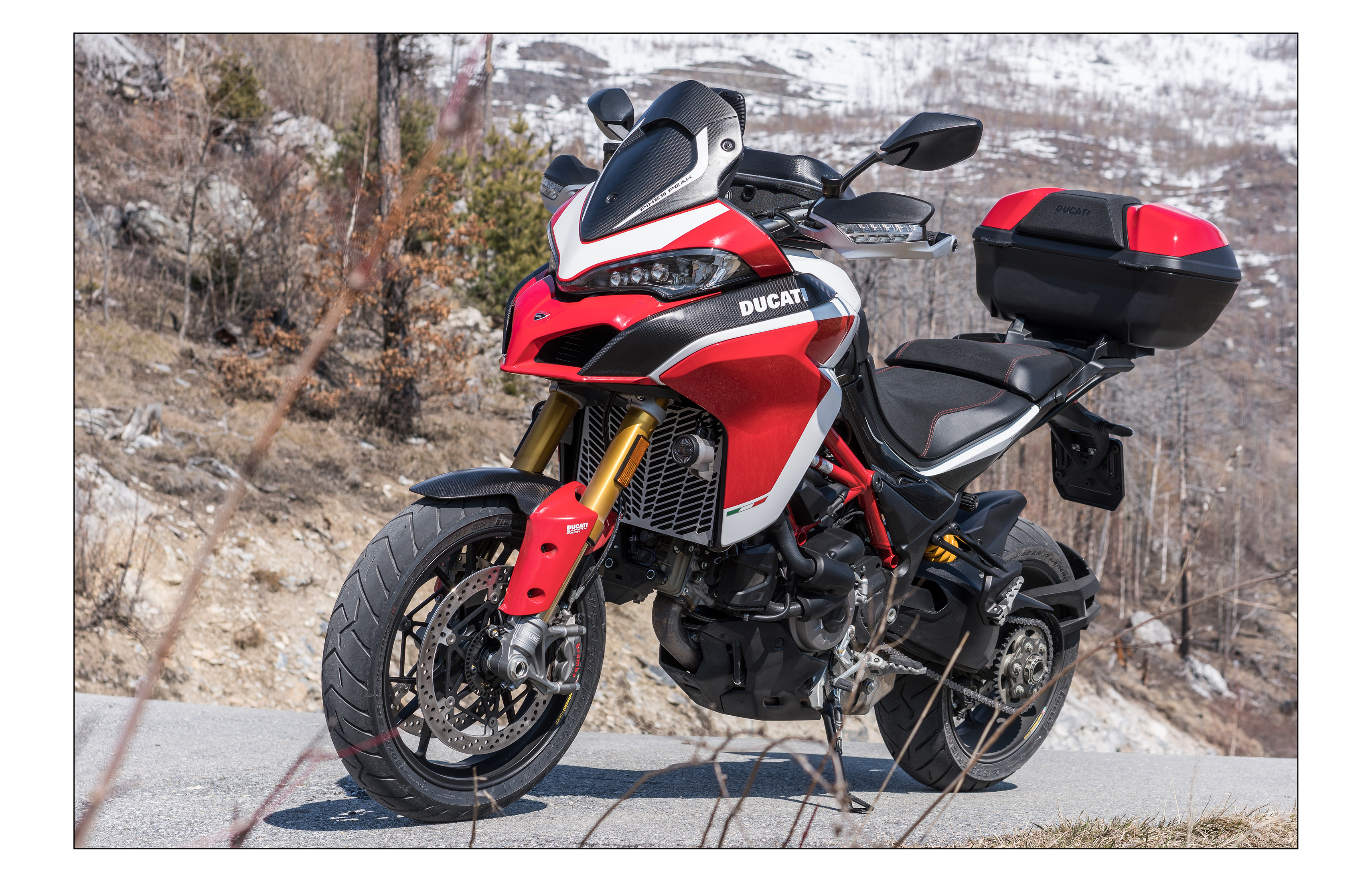 nouveaute 2018 la nouvelle multistrada 1260 pikes peak ducati mania le forum francophone. Black Bedroom Furniture Sets. Home Design Ideas